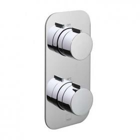 Vado Altitude Twin Outlet Thermostatic Shower Valve
