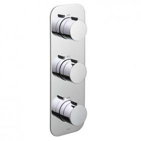 Vado Altitude Triple Dual Outlet Thermostatic Shower Valve