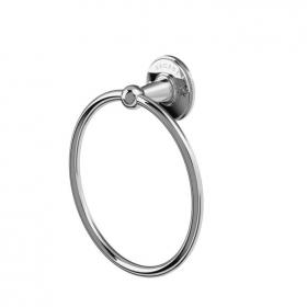 Arcade Chrome Towel Ring