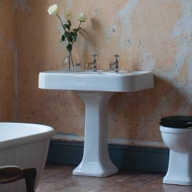 Arcade 900mm Basin With Pedestal