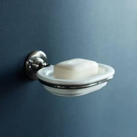 Arcade Nickel Soap Dish