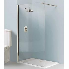 Arcade Elite Nickel Walk In Shower Screen