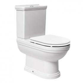 Aristo Close Coupled Traditional Toilet With Seat