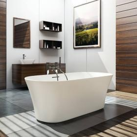 Clearwater Armonia Natural Stone Freestanding Bath