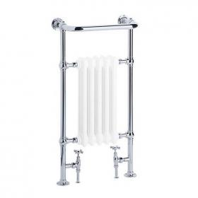 Heritage Baby Clifton Chrome Heated Towel Rail
