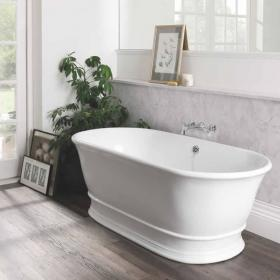 BC Designs Bampton Cian Solid Surface Freestanding Bath