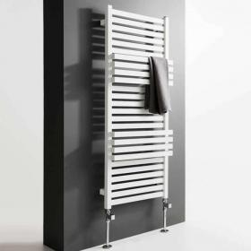 Bauhaus Seattle Soft White Matte Towel Rail