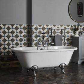 Bayswater Leinster 1500mm Double End Freestanding Bath & Feet