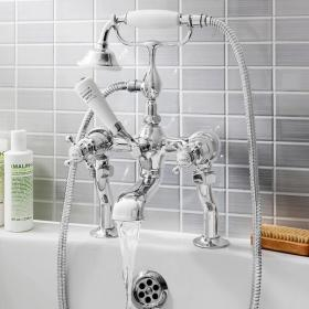 Crosswater Belgravia Crosshead Bath Shower Mixer