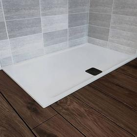 Blu-Gem2 1400 x 900mm Rectangle 25mm Shower Tray & Waste