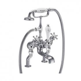 Burlington Birkenhead Deck Mounted Angled Bath Shower Mixer