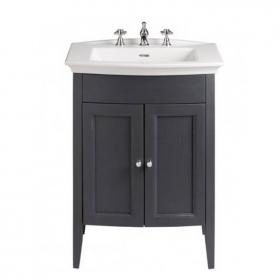Heritage Caversham Graphite Vanity Unit & Blenheim Basin