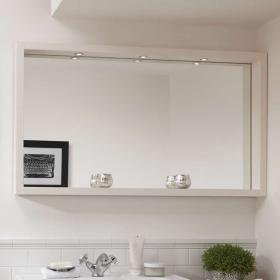 Imperial Large Box Mirror With Lights