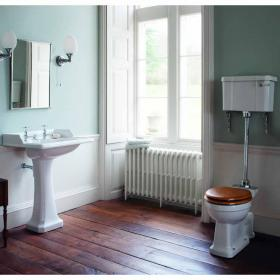 Burlington Classic Basin & Low Level Toilet Set