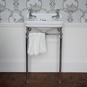 Burlington Edwardian Cloakroom Basin & Wash Stand