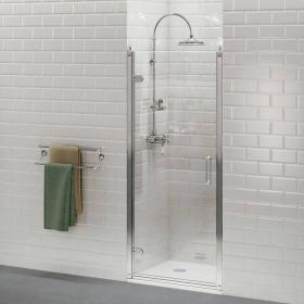 Burlington Hinged Shower Door