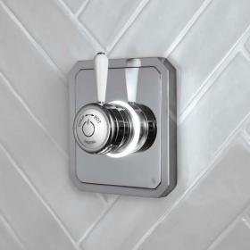 Burlington Classic 1910 Single Outlet Digital Shower Valve - Low Pressure