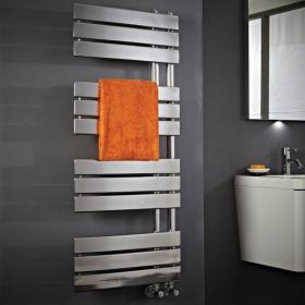 Phoenix Carla Designer Chrome Electric Radiator