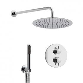 Vado Celsius Round Concealed Thermostatic Shower Valve Pack