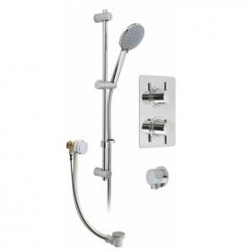 Vado Celsius Square Concealed Thermostatic Bath/Shower Valve Pack