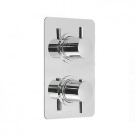 Vado Celsius Twin Outlet Thermostatic Shower Valve