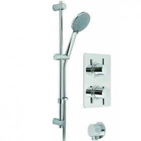 Vado Celsius Square Concealed Thermostatic Shower Valve Pack