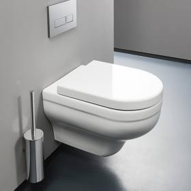 Bauhaus Central Wall Hung WC & Soft Close Seat
