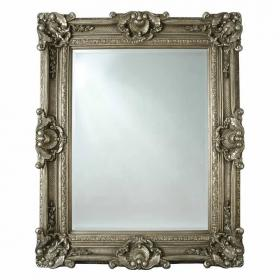 Heritage Chesham Grand Pewter Silver Mirror