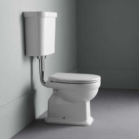 GSI Classic 54 Low Level WC, Cistern & Soft Close Seat