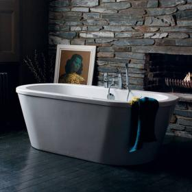 Britton Cleargreen Nouveau Freestanding Bath