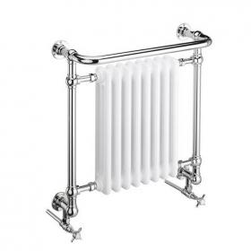 Heritage Clifton Wall Hung Chrome Heated Towel Rail