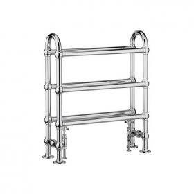 Heritage Oakham Chrome Heated Towel Rail