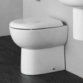 Britton Compact Back To Wall Pan & Soft Close Seat