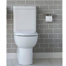 Britton Compact Back To Wall Close Coupled WC, Cistern & Seat