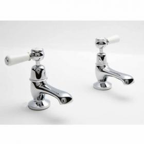 BC Designs Victrion Lever Basin Pillar Taps