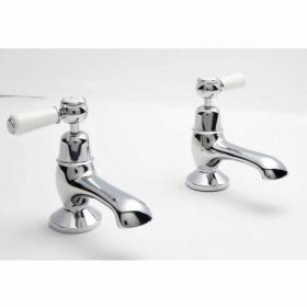 BC Designs Victrion Lever Bath Pillar Taps