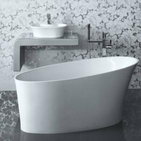 BC Designs Delicata Slipper Freestanding Bath