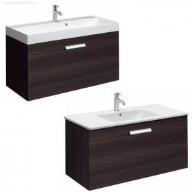 Bauhaus Design Plus 100 Drawer Panga Vanity Unit & Basin