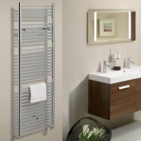 Bauhaus Design 600mm Flat Panel Towel Rail