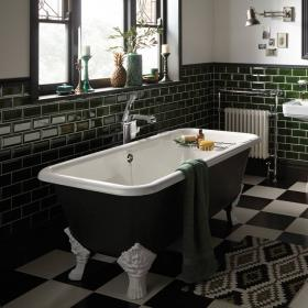 Heritage Dorset Freestanding Cast Iron Double Ended Bath