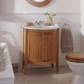 Imperial Drift Linea Vanity Unit with 2 Solid Wood Doors