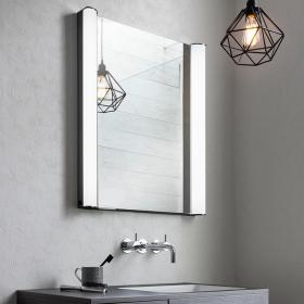 Bauhaus Duo 600mm LED Illuminated Mirror Cabinet
