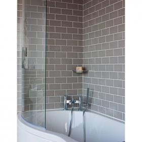 Britton Cleargreen EcoRound Bath Screen
