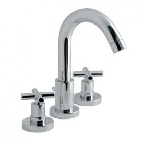 Vado Elements Three Tap Hole Basin Mixer