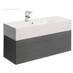 Bauhaus Elite 100 Steel Vanity Unit & Basin