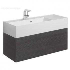 Bauhaus Elite 100 Anthracite Vanity Unit & Basin