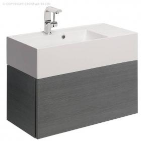 Bauhaus Elite 70 Steel Vanity Unit & Basin