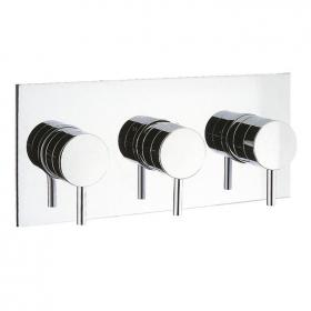Crosswater Elite Landscape Thermostatic Shower Valve With 3 Way Diverter