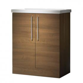Roper Rhodes Envy Walnut 700mm Freestanding Unit & Basin