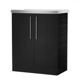 Roper Rhodes Envy Anthracite 700mm Freestanding Unit & Basin